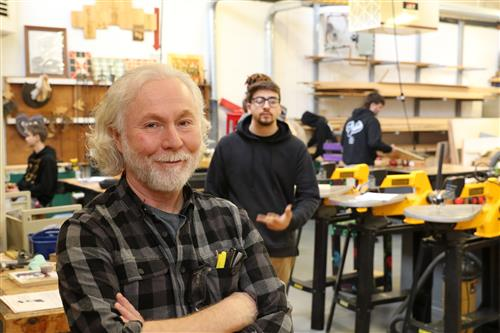 Art-Wood Shop Teacher Mr. Dennis DeCarlo